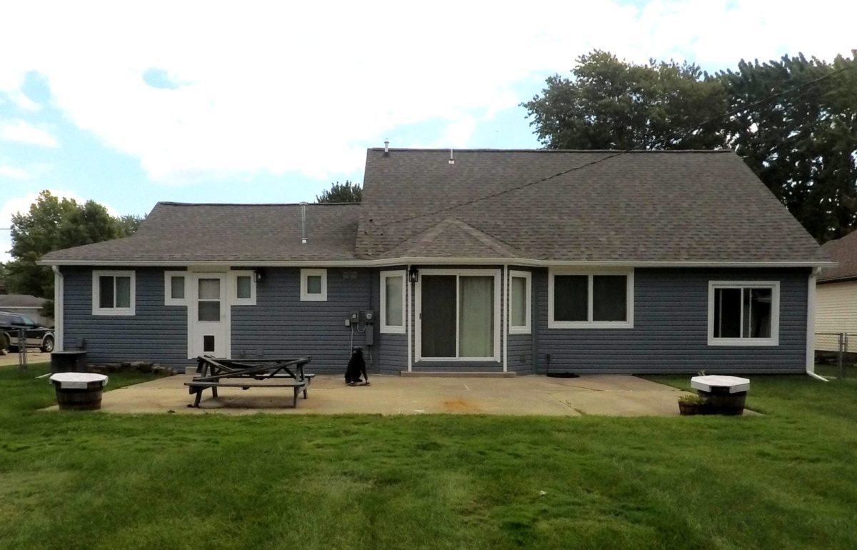 Harrison Township Windows, Siding, and Gutters Back After Install