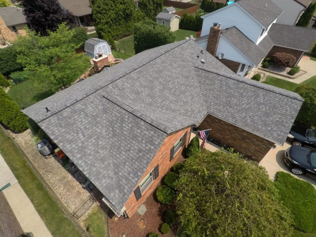 Macomb roofing replacement - Left After Install