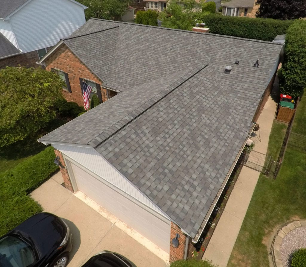 Macomb roofing replacement - Right After Install