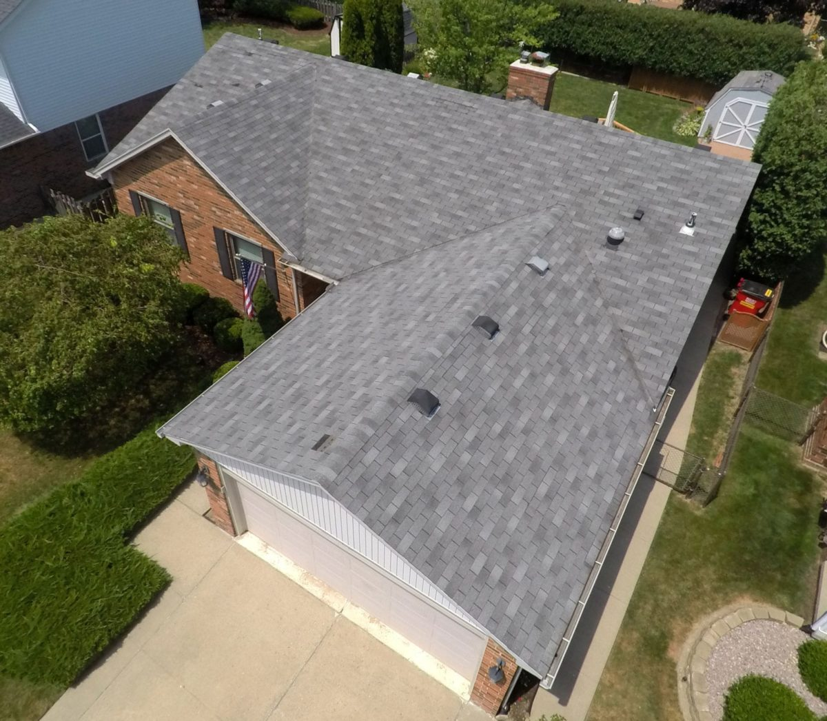 Macomb roofing replacement - Right Before Install