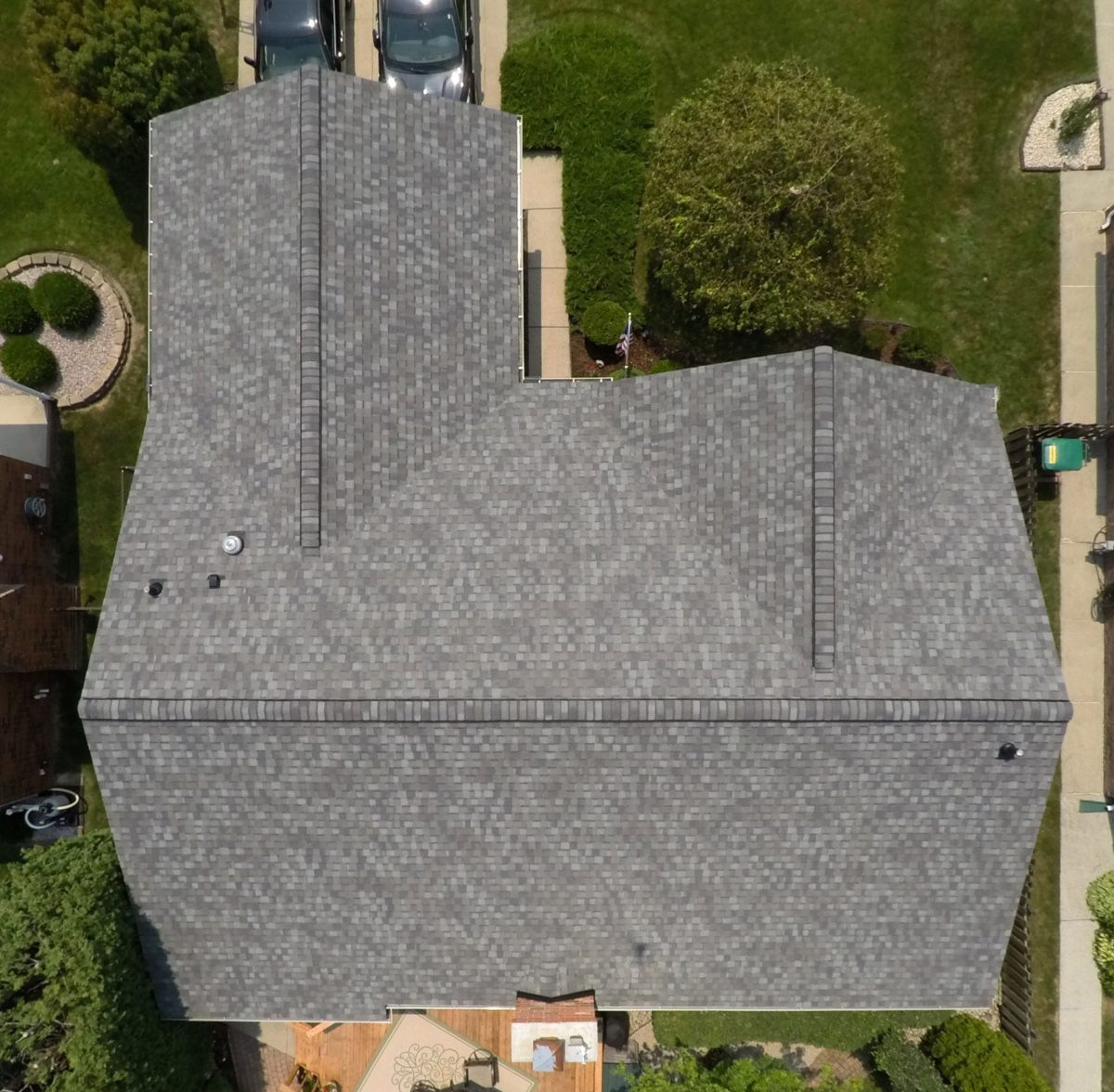 Macomb roofing replacement - Top After Install